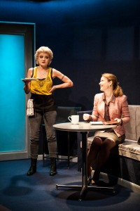 Alison Fraser (Madge) and Margot White (Colleen) in Love Therapy