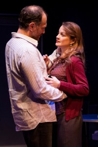 David Bishins (Steven) and Margot White (Colleen) in Love Therapy